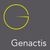 Fits in 160x50 genactis web logo