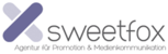 Fits in 160x50 sweetfox logo