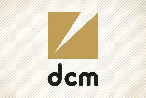 Normal dcm logo stripesbg