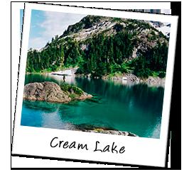 Polaroid kanada creamlake